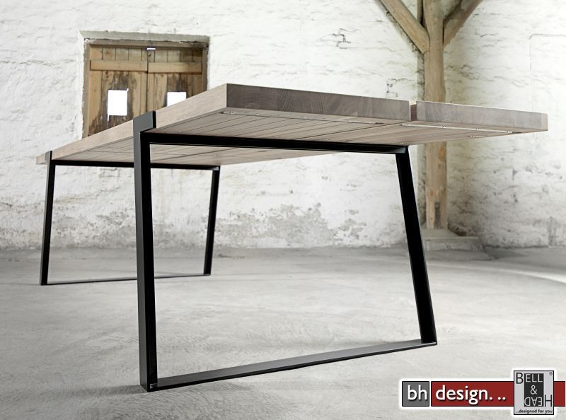Design holztisch massiv  Gigant Esstisch by Canett Design Massiv Eiche in verschiedenen ...