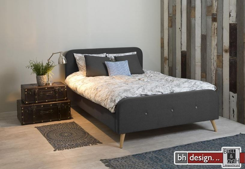 design bett agnes 140 x 200 cm alternativ 180 x 200 cm verschiedene farben powered by bell. Black Bedroom Furniture Sets. Home Design Ideas