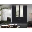 Express Möbel Drehtürenschrank Brooklyn, mit Spiegel  und Schubladen, Höhe 216 cm oder Höhe 236 cm