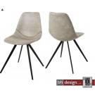 Liva  Designstuhl by Canett Design im Vintage Look in verschiedenen  Farben