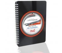 FLVG Lehrerkalender von Lehrern für Lehrer 2020/2021 DIN A5 mit upcycling Cover aus echter Vinyl-Schallplatte