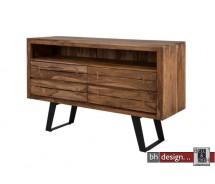 Oshawa Sideboard by Canett Design  massiv Sheesham Holz 145 x 90  cm
