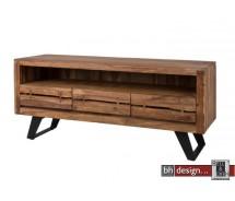 Oshawa Medienelement  by Canett Design massiv Sheesham Holz 150 x 63  cm