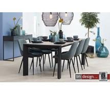 Oksna Esstisch / Konferenztisch ausziehbar by Canett Design, Eiche grau gebeizt ab 220 cm bis 370 cm