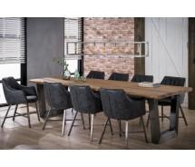 Baumkante Esstisch Konferenztisch massiv Akazienholz  300  x 100 cm