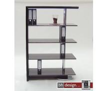 Titanium Highboard Esche schwarz