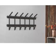 Carry Line Garderobe aus Rundrohr dunkelgrau  matt 65 x 35 cm