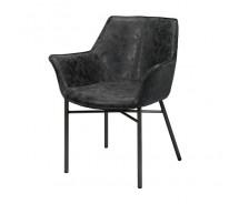 Cluby 3 Stuhl, Rundrohr  Beine Vintage mit Armlehnen in verschiedenen Farben