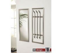 Carry Line Spiegel aus Sicherheitsglas mit Edelstahlrahmen 100 x 40 cm