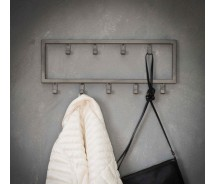 Carry Line Garderobe mit 9 Haken Vintage Look 50 cm x 20 cm