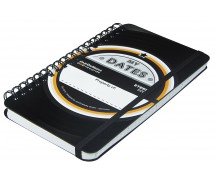 Kompakter Termin-Kalender 2017 aus echter Vinyl-Schallplatte - Upcycling-Buch by JamOnMedia