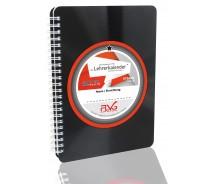 FLVG Lehrerkalender von Lehrern für Lehrer 2018/2019 DIN A5 mit upcycling Cover aus echter Vinyl-Schallplatte