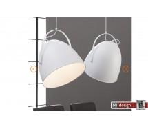 Industrie Line Hängelampe 2-er Set  mit verstellbaren Lampenschirmen 110 cm  x  H 150 cm