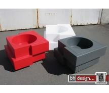 Cubic Yo Designer Blumentopf