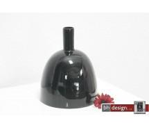 Spizy Vase kleiner Hals schwarz H 25 cm
