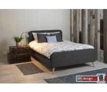 Design Bett Agnes 140 x 200 cm , alternativ 180 x 200 cm in verschiedenen Farben