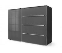 Nolte Möbel Sidebard Alegro Style, 140  x 104 cm, 4 Glasschubkästen, 1 Tür , verschiedene Farben
