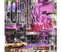 "Bild  ""New York""  90 x 90 cm"
