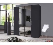 Express Möbel Drehtürenschrank Brooklyn, uni mt Spiegel ,100 cm bis 300 cm , Höhe 216 cm oder Höhe 236 cm