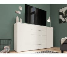 Express Möbel Sideboard Carina , 2 Türen 5 Schubkästen, verschiedene Farbvarianten B 180 cm x H 100 cm