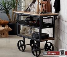 Factory Servierwagen, Anrichte  by Canett Design  85 x 49 x  H 85 cm
