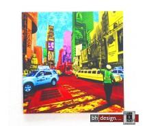 "Bild ""American City 2"" 40 x 40 cm"