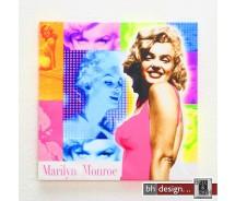 "Bild ""Marilyn Monroe"" 40 x 40 cm"