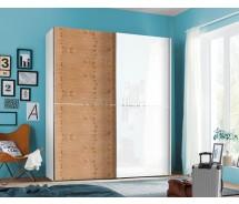 Express Möbel Schwebetürenschrank One 310 , mit Glastür, 150 cm bis 300 cm, verschiedene Farben