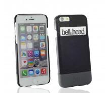 """Echtleder Cover """"rush"""" für iPhone 6 (S) / iPhone 6 (S) Plus und Galaxy S6 (edge und edge+) schwarz-grau"""