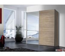Express Möbel Schwebetürenschrank Stars mit Spiegeltür, 150 cm bis 350 cm , Höhe 216 cm oder Höhe 236 cm